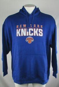 New-York-Knicks-NBA-Blue-Long-Sleeved-Pullover-Fleece-Hoodie-XLT-3XT