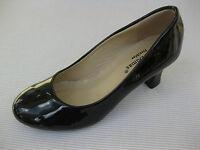 Pierre Dumas Womens Shoes $44 Sara Black Patent Pump 7 M