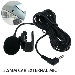 3-5mm-Car-External-Mic-Microphone-For-bluetooth-Enabled-Stereo-GPS-DVD-Radio