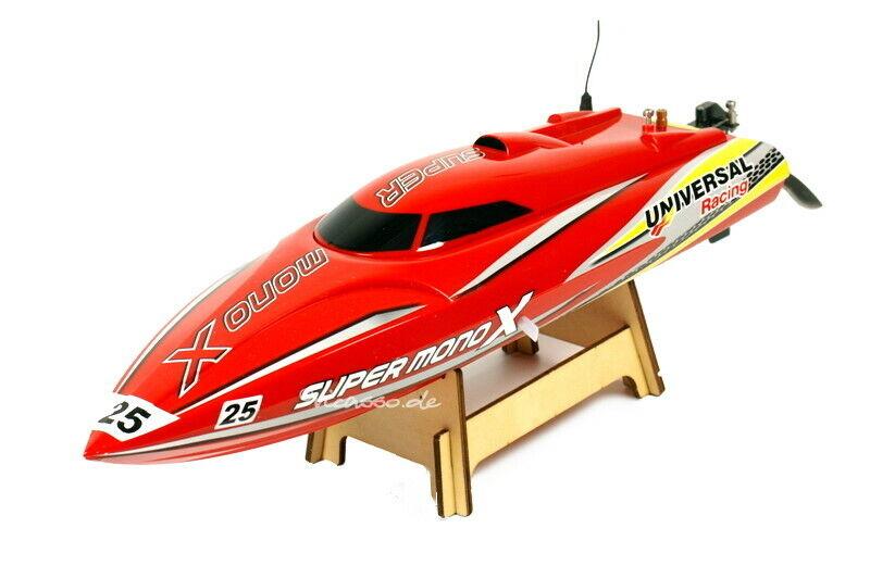 RC Brushless Chow SUPER  MONO X MOTOSCAFO 45km h V-avvio RTR barca 2,4ghz  tutti i prodotti ottengono fino al 34% di sconto