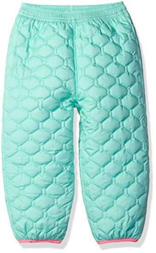 The North Face Kids Unisex Perrito Reversible Pants Surf Green Pants 6 Infant