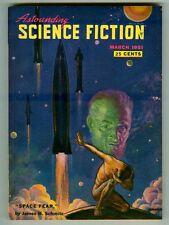 Vintage ASTOUNDING SCIENCE FICTION Magazine! March 1951! Space Fear by Schmitz!