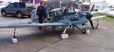 Peak Aerospace Me 109 Ultralight Aircraft Wood Model Big New