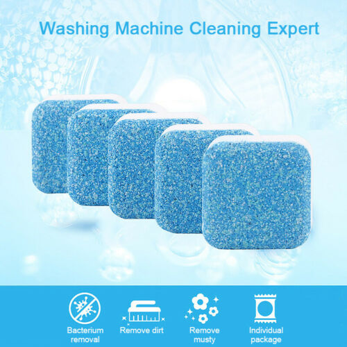 10pcs Washing Machine Effervescent Tablet Tub Cleaner Remover Deodorant for Home