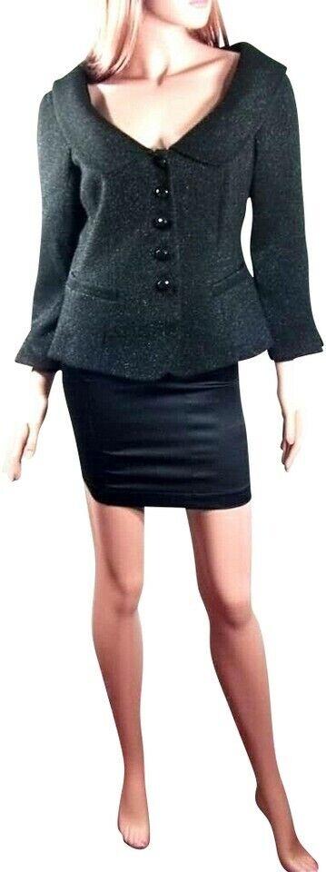 1400 Armani Collezioni para mujeres Lana Sparkle Blazer  promociones