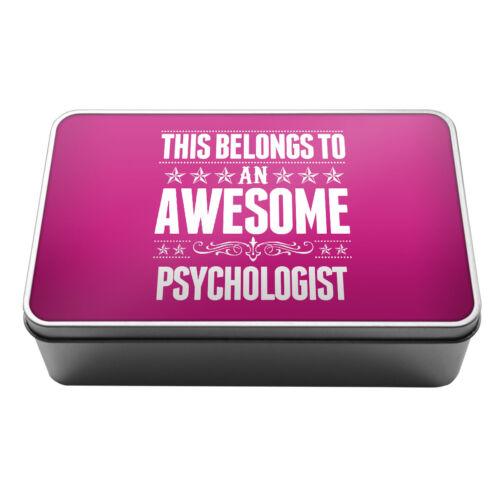 Cela appartient à une impressionnante psychologue de conservation en métal tin box 151