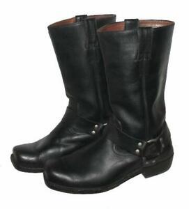""""""" HIGHWAY 1 """" Herren- Western- Stiefel / Biker - Boots in black ca. Gr. 42,5"""