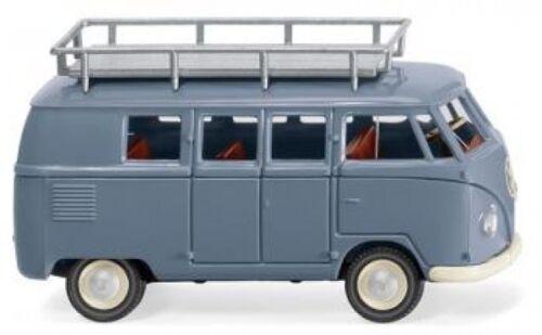 1//87 Wiking VW T1 Typ 2 Bus taubenblau 0788 10