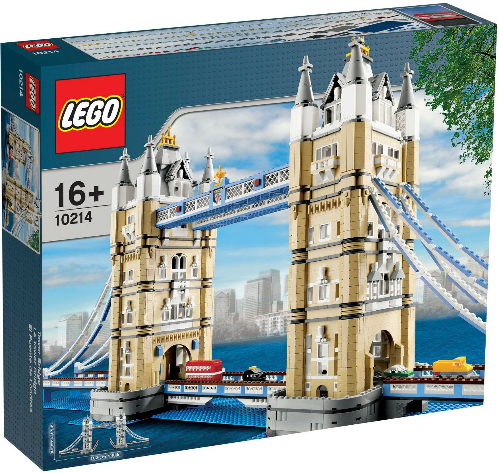 LEGO le TOWER BRIDGE 10214 NEUF NEW Creator Expert pont Londres London collector