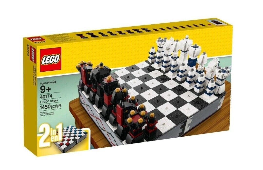 Lego Iconic 40174 Schachspiel 2017 Chess Dame Neu 1450pcs Teile