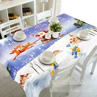 3d Santa Claus 56 Tablecloth Table Cover Cloth Birthday Party Event Aj Wallpaper