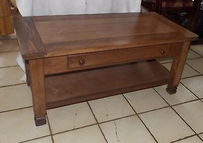 Cherry Pine Coffee Table With Drawer Ct188 Ebay