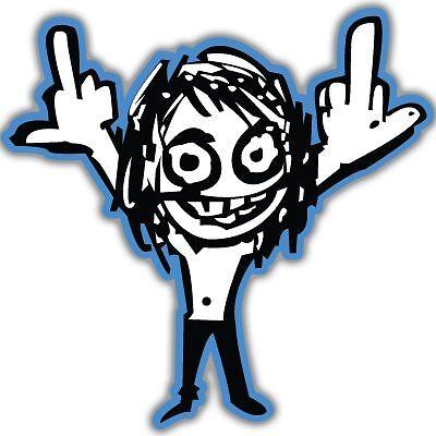 Ozzy Osbourne F OFF Vynil Car Sticker Decal - Select Size