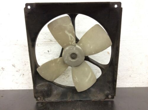 80-82 Prelude Radiator Cooling Fan Denso Assy Shroud Motor Blades Used OEM