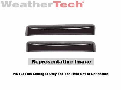 WeatherTech Custom Fit Front /& Rear Side Window Deflectors for Audi Q5 Dark Smoke