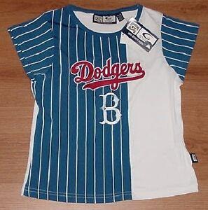 Image is loading Brooklyn-Los-Angeles-Dodgers-Ladies-Jersey-Shirt-Medium- df3bc759d17