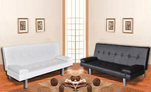 Divano Nero Ecopelle : Divano letto ecopelle largo 3 posti salotto nero o