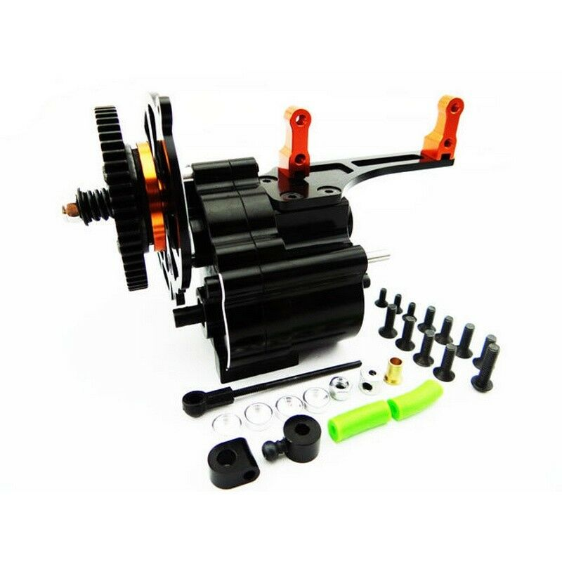 Hot Racing SCX38TP03 Axial Wraith Aluminum 2 Speed Transmission (Short Output)