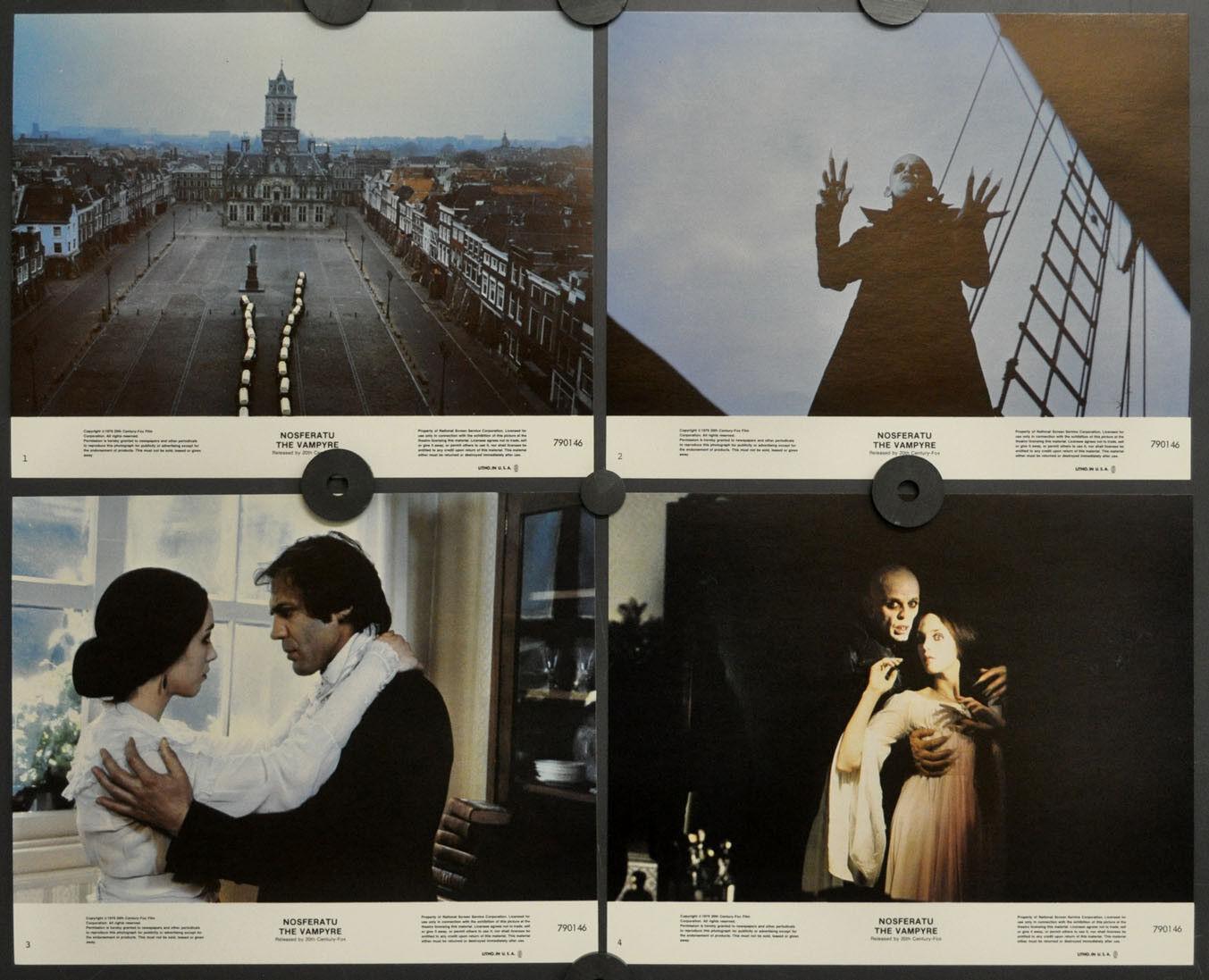 Nosferatu The Vampyre 1979 1979 1979 Original 8X10 Mint Lobby Karte Set Klaus Kinski  | Beliebte Empfehlung  dbebb8
