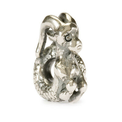 100/% Authentic Sterling Silver TROLLBEADS CAPRICORN 11349 *CLOSEOUT*