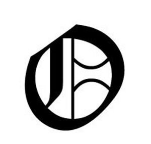 old english lettering letter o car tablet vinyl decal. Black Bedroom Furniture Sets. Home Design Ideas