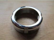 90-0265 BSA BANTAM D1 D3 D5 D7 D10 D14 B175 CHROME EXHAUST NUT RING - UK MADE