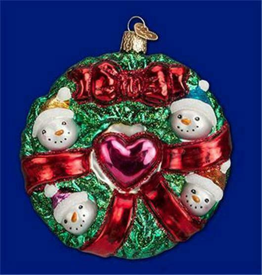 glass old world christmas ornament