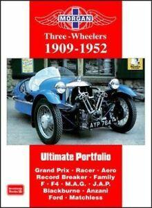 Morgan-Three-Wheelers-1909-1952-Road-Test-Article-Book-Grand-Prix-Racers-Aero