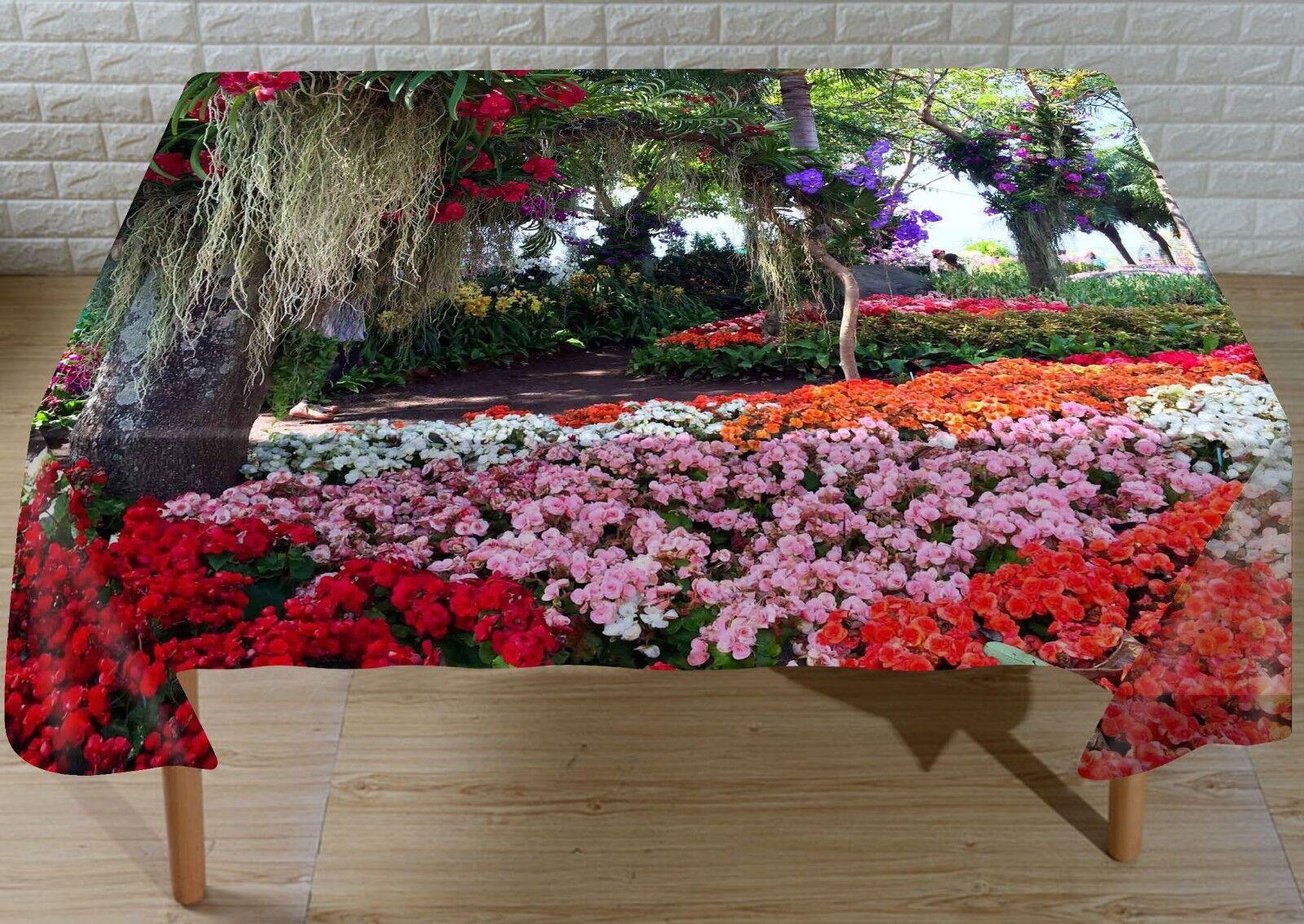 3D rose Garden 244 Tablecloth Table Cover Cloth Birthday Party Event AJ Lemon