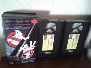 CAZAFANTASMAS-2-EDICION-LIMITADA-15-ANIVERSARIO-GHOSTBUSTERS-1984-VHS-PAL-ESPANA