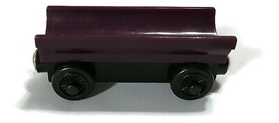 Thomas and Friends Train Wooden Purple Barrel Car  Magnetic