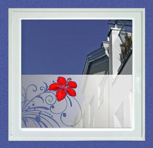Das Bild Wird Geladen Sichtschutz Folie Glasdekor Fenster Ranken Und Bluete Wohnzimmer