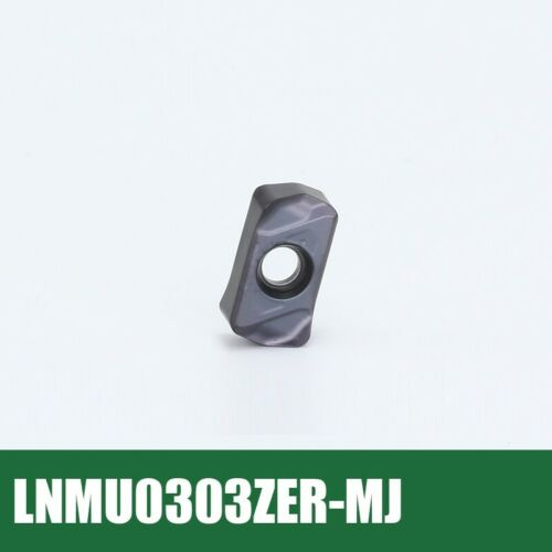 EXN03 Indexable High Speed Rough Mill Cutter for Inserts LNMU0303ZER Double Edge