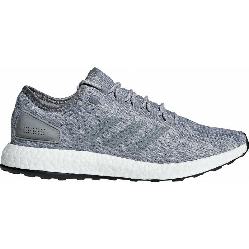 Mens Adidas Pure Boost Mens Running shoes - Grey