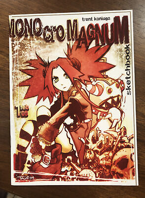 Trent Kaniuga Sketchbook Monocromagnum 2005 SIGNED