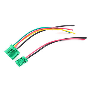 Air-Conditioning-Blower-Resistor-Connector-Wire-For-Nissan-Tiida-Renault-Megane