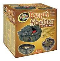 Zoo Med Reptile Shelter 3 In 1 Cave, Medium, New, Free Shipping on sale
