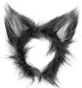 image is loading new plush grey wolf ears big bad wolf