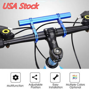 Bike Flashlight Holder Handle Bar Bicycle Accessories Extender Mount Bracket US