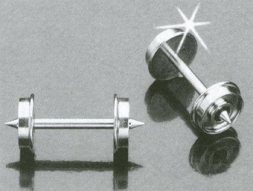 Juego De Ruedas Ho 31  IHC ennegrecido 31  rueda de metal 4255-L100 IHC smoothside