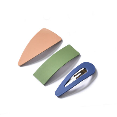 Fashion Acrylic Ladies Geometric Hair Clips Clamps Hairpin Barrette Slides