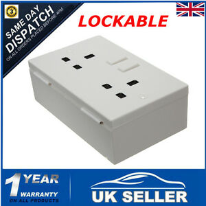 Imitation Double Plug Socket Wall Safe Security Secret Hidden Stash