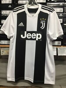 the latest 09b24 d1894 Details about Adidas Juventus Home Jersey 2019-20 #7 Ronaldo Size Large Only