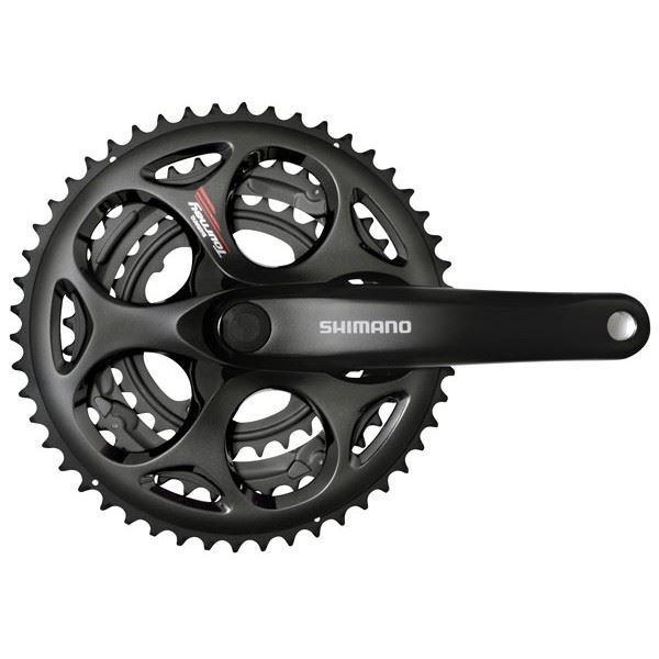 Shimano Tourney FCA073 Triplo 5030T 165 mm Strada Bicicletta Crank No e paraingranaggio