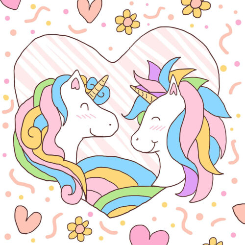 Unicorn 200 pcs Digital PNG Bundle Pack Lot For Stickers Birthday party Decal