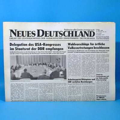 Ddr Neues Deutschland 31.03.1989 März Zum Geburtstag Hochzeitstag 29. 30. 31. 32
