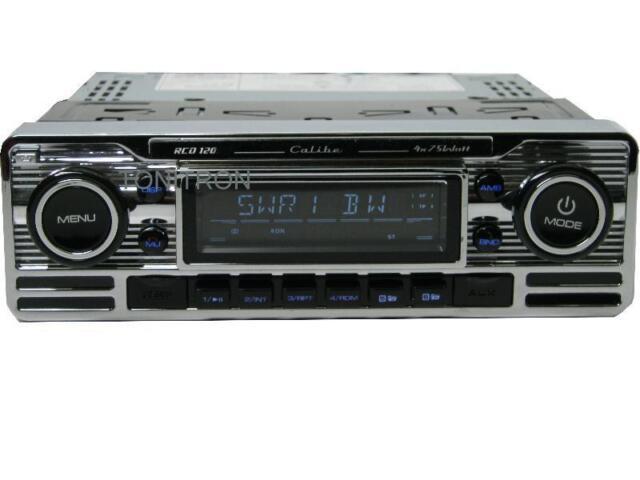 Caliber RMD 120 BT Bluetooth USB SD  MP3 Retro Design Look Oldtimer Autoradio