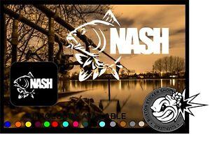 Nash-Pesca-Auto-Paraurti-Finestra-Decalcomania-in-Vinile-Adesivo-Laptop-PESCA-SPORTIVA-Carp-BASS
