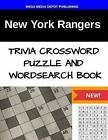 New York Rangers Trivia Crossword Puzzle and Word Search Book by Mega Media Depot (Paperback / softback, 2016)