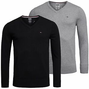 Tommy-Hilfiger-Denim-TIMBER-V-Neck-Pullover-Pulli-Sweater-Gr-S-XXL